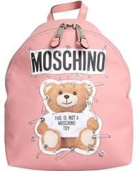 Moschino - Bunny Teddy Bear Backpack - Lyst