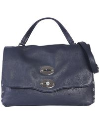 Zanellato Small Daily Leather Original Bag - Blue