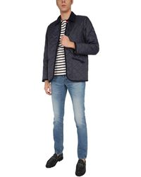 Saint James Raydon Quilted Jacket - Blue