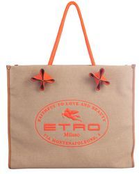 Etro Borsa Shopping - Multicolore