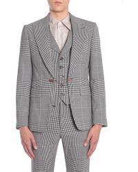 Vivienne Westwood Jacket With Internal Vest - Black