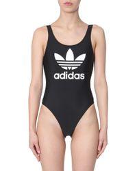 adidas Originals Trf Swimsuit With Logo