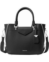 MICHAEL Michael Kors Blakely Leather Handbag - Black