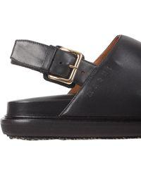 Marni Fussbett Sandals - Black