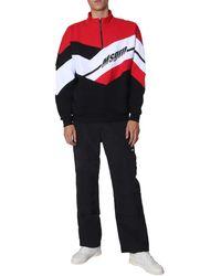 MSGM Colorblock Sweatshirt - Black