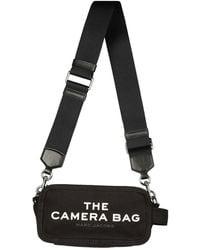 Marc Jacobs The Camera Canvas Bag - Black