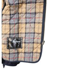 """Barbour GIACCA """"ASHBY"""" IN COTONE CERATO - Blu"""