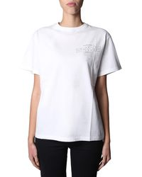 """Golden Goose Deluxe Brand """"tour Texas"""" Round Neck Cotton T-shirt - White"""