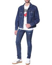 DSquared² Oversize Fit Denim Jacket - Blue