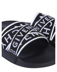 Givenchy SANDALO SLIDE IN GOMMA - Nero