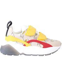 Stella McCartney Eclypse Submarine Velcro Sneaker - Yellow