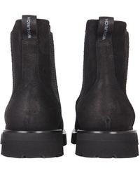 Woolrich Suede Chelsea Boots - Black