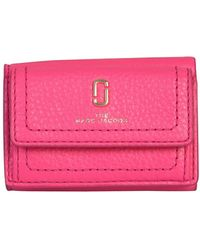 Marc Jacobs Mini Snapshot Trifold Wallet - Pink