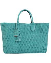 Bruno Parise Italia - Carolina Shopping Leather Bag - Lyst