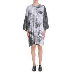 Maison Margiela - Printed Oversize Fit Cotton T-shirt - Lyst