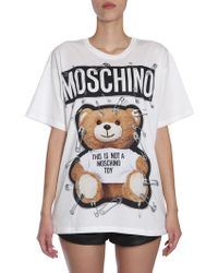 Moschino - Ready To Bear T-shirt - Lyst