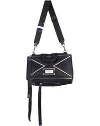Givenchy Pandora Messanger Bag With Logo - Black
