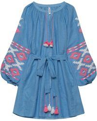 MARCH11 - Istanbul Linen Mini Dress - Lyst