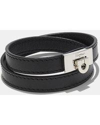 Ferragamo   Double Wrap Bracelet   Lyst