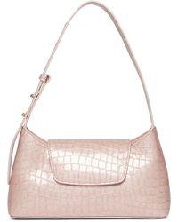 Elleme Envelope Croco Pearl Magnolia Pink
