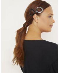 Eloquii - Circle Hair Clip Duo - Lyst