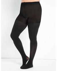 Eloquii Premium Opaque Tights - Black