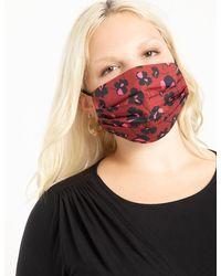 Eloquii Face Mask Final Sale - Red