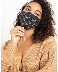 Eloquii Face Mask Final Sale - Multicolor