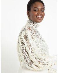 Eloquii The Retta Blouse - White