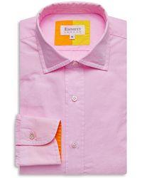 Emmett London Pink Poplin Shirt
