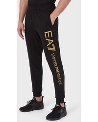 Emporio Armani Pantalones de chándal - Negro