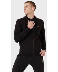 Emporio Armani Sweat-shirt zippé à capuche - Noir