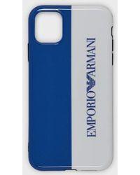 Emporio Armani Funda iPhone 11 con logotipo - Multicolor