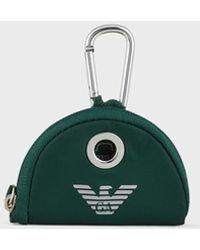 Emporio Armani Distributeur de sacs pour chien - Vert