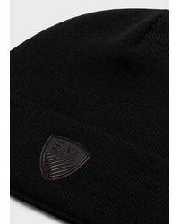 Emporio Armani Bonnets - Noir