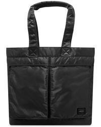 Porter Tanker Tote Bag - Black