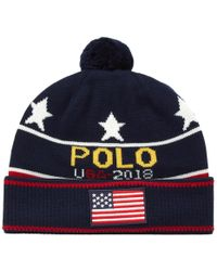 Polo Ralph Lauren - Knitted Hat - Lyst