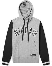 7f0fc66f3a2f1b Lyst - Nike Air Jordan Jsw Pullover Fleece Logo Hoody  quai 54  in ...