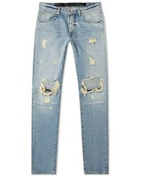Unravel Project Distressed Skinny Jean - Blue