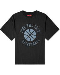 424 Basketball Tee - Black