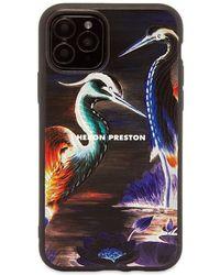 Heron Preston Heron Times Iphone 11 Pro Case - Black