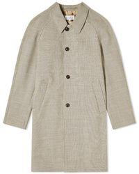 Maison Margiela 14 Wool Check Coat - Multicolor