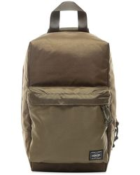 Porter Force Sling Shoulder Bag - Green