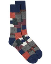 Anonymous Ism - Patchwork Crew Sock - Lyst