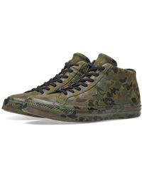 Converse - One Star Mid Camo Pack - Lyst