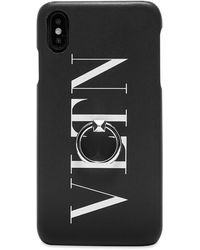 Valentino Vltn Iphone Xs Max Case - Black