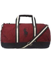 Polo Ralph Lauren - Canvas Polo Player Logo Duffle Bag - Lyst 8f76b61a49b22