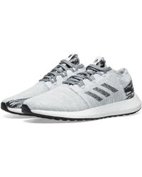 7fa8b2ace Lyst - adidas Originals Undefeated X Adidas Pureboost Go in Gray for Men