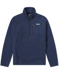 Patagonia - Better Jumper 1/4 Zip Jacket - Lyst