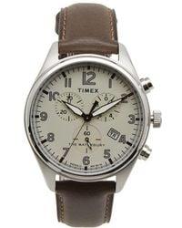 Timex - Waterbury Traditional Chronograph Watch - Lyst